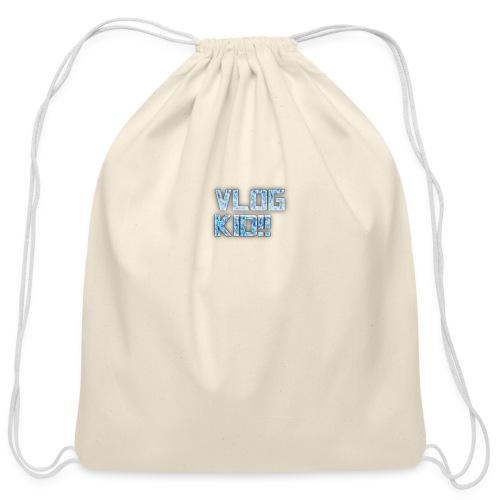 Vlog Kid - Cotton Drawstring Bag