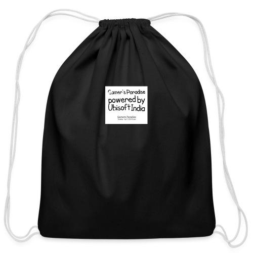 Cool Gamer Quote Apparel - Cotton Drawstring Bag