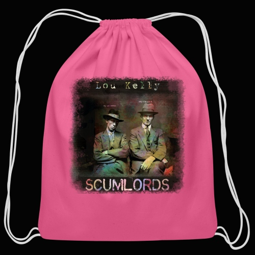 Lou Kelly - Scumlords Album Cover - Cotton Drawstring Bag