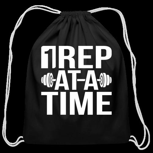 1Rep at a Time - Cotton Drawstring Bag