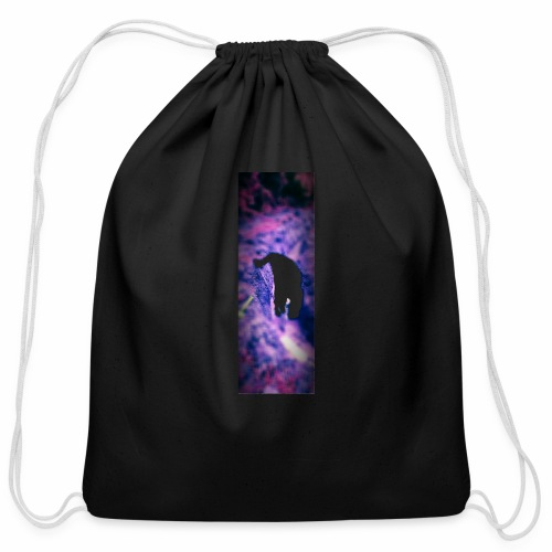 Shoveling - Cotton Drawstring Bag