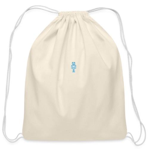 Diamond Steve - Cotton Drawstring Bag