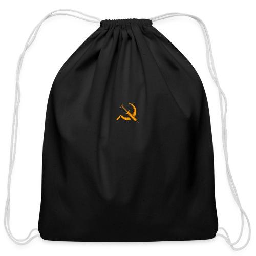 USSR logo - Cotton Drawstring Bag