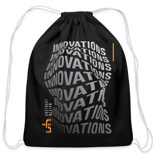 vhABstract3D - Cotton Drawstring Bag