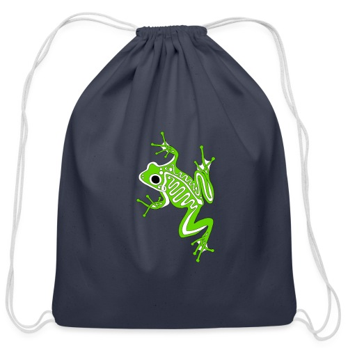 Anglo-Saxon Frog - Cotton Drawstring Bag