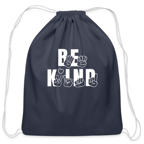 Be Kind - Cotton Drawstring Bag