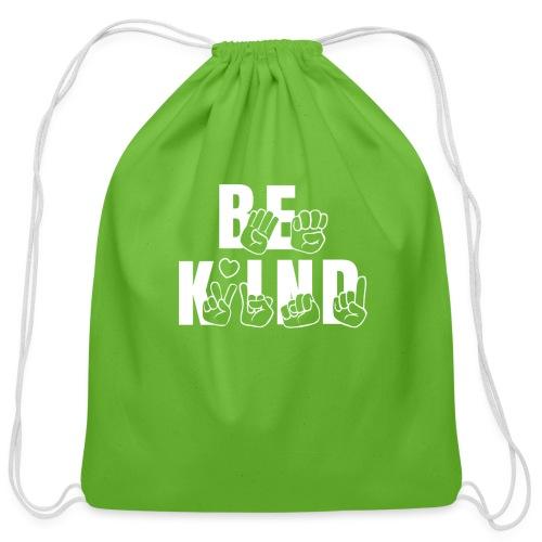 Be Kind - Cotton Drawstring Bag