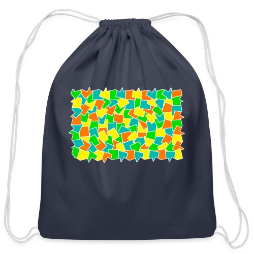 Dynamic movement - Cotton Drawstring Bag