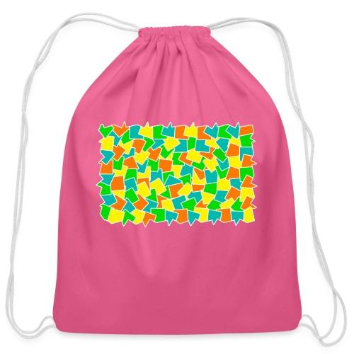 Dynamic movement - Cotton Drawstring Bag