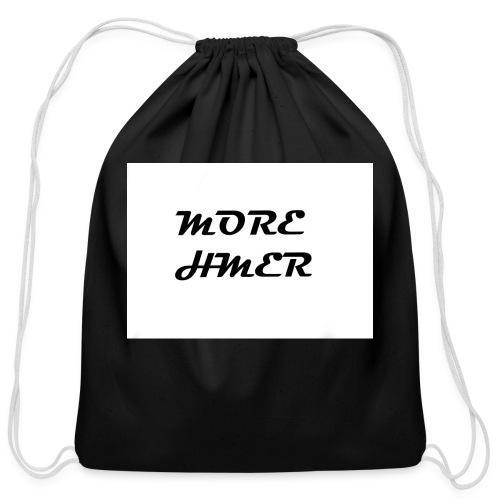 MORE HMER - Cotton Drawstring Bag