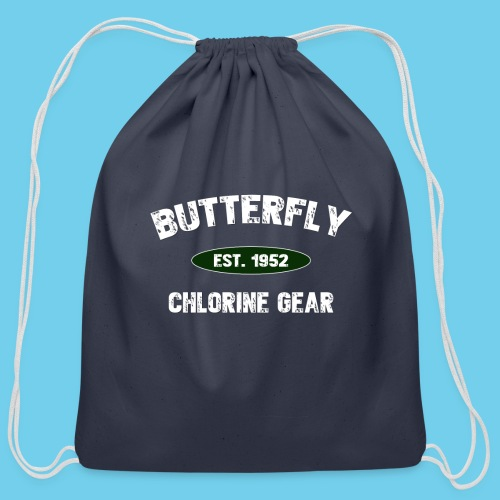 Butterfly est 1952-M - Cotton Drawstring Bag