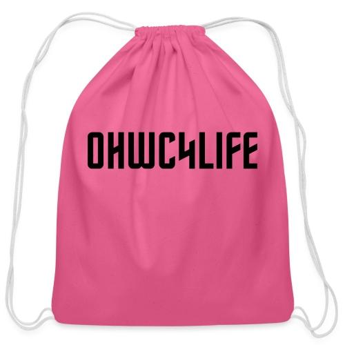 OHWC4LIFE NO-BG - Cotton Drawstring Bag