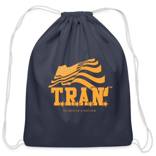 TRAN Gold Club - Cotton Drawstring Bag
