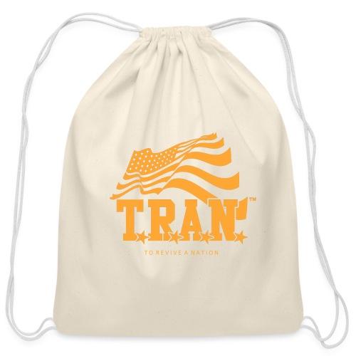 TRAN Gold Club - Cotton Drawstring Bag