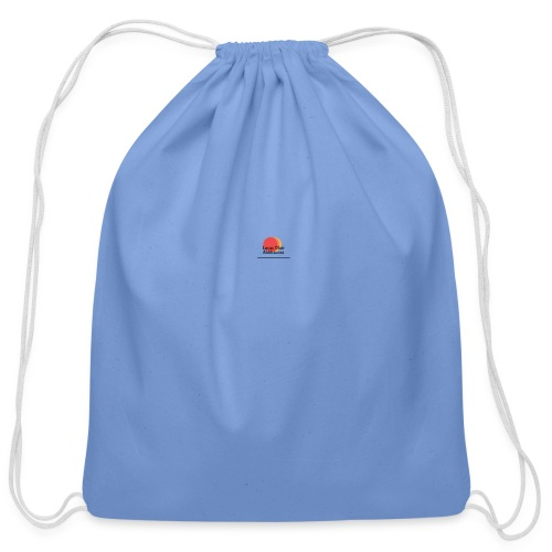 logo for lucas - Cotton Drawstring Bag