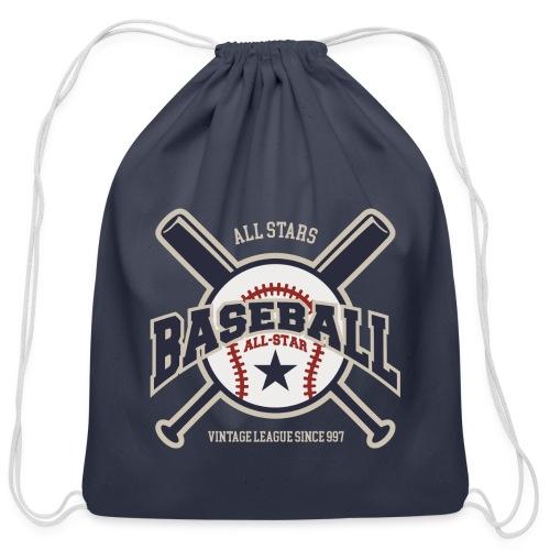 Baseball - Cotton Drawstring Bag