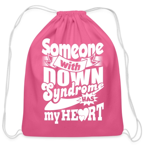 Has my Heart - Cotton Drawstring Bag