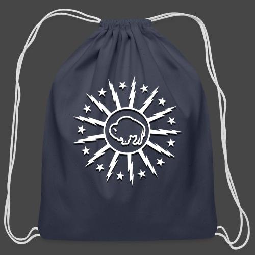 Bolts & Stars - Cotton Drawstring Bag