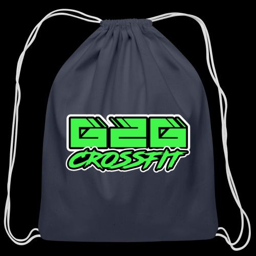 Electrifying Green Half G2G Logo - Cotton Drawstring Bag