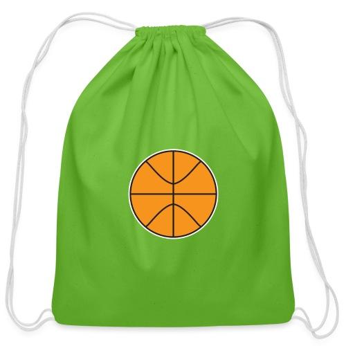 Plain basketball - Cotton Drawstring Bag