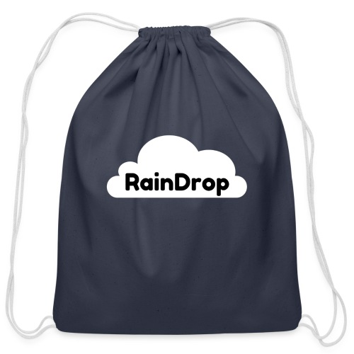 RainDrop - Cotton Drawstring Bag