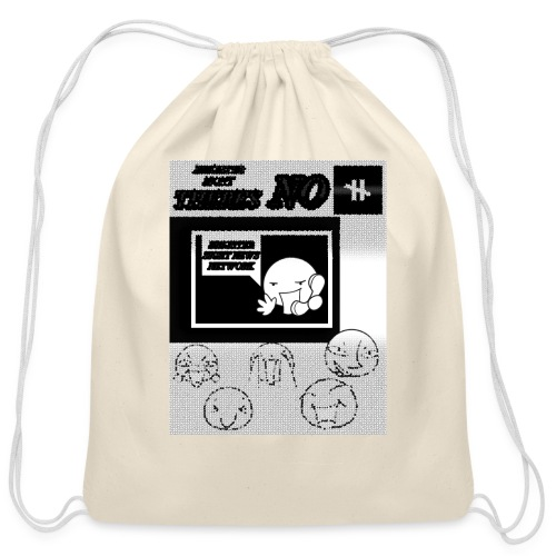 BRIGHTER SIGHT NEWS NETWORK - Cotton Drawstring Bag