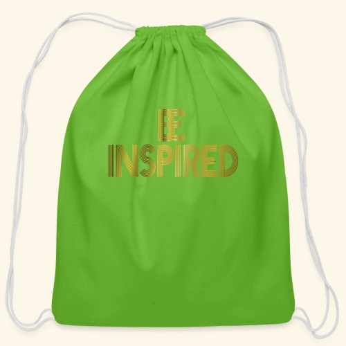 BE INSPIRED #3 - Cotton Drawstring Bag