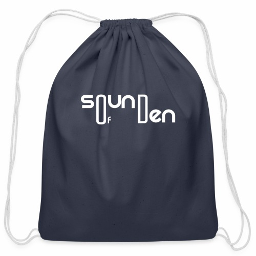 Soundofden The white classical Logo - Cotton Drawstring Bag