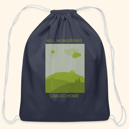Hill mongereres - Cotton Drawstring Bag
