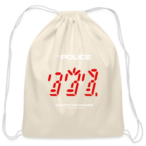 Ghost in the Machine - Cotton Drawstring Bag