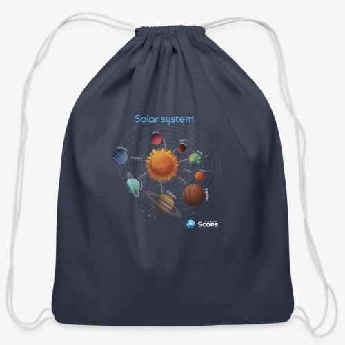 Solar System Scope : Solar System - Cotton Drawstring Bag
