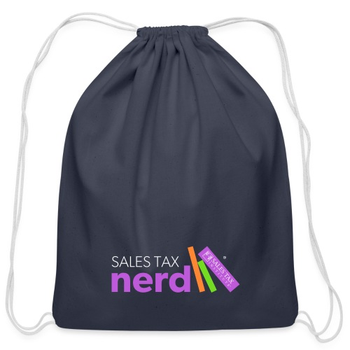 Sales Tax Nerd - Cotton Drawstring Bag