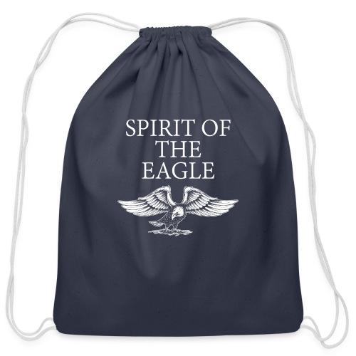 Spirit of the Eagle - Cotton Drawstring Bag