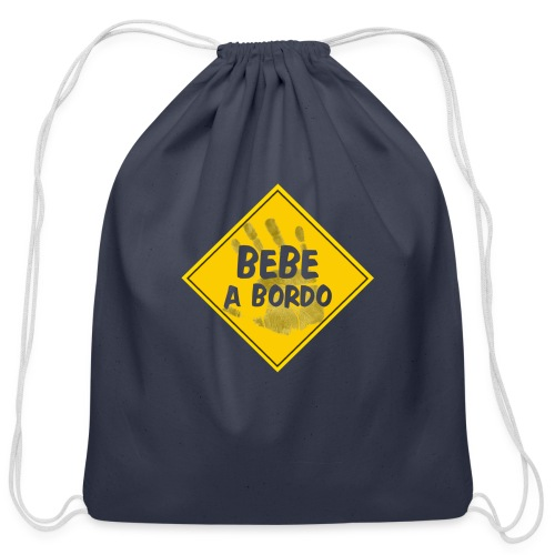 BABY ON BOARD - Cotton Drawstring Bag