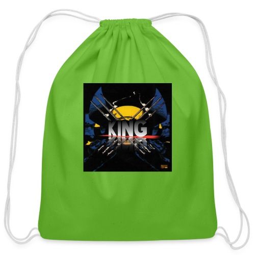 ones wolverine was a king!! - Cotton Drawstring Bag