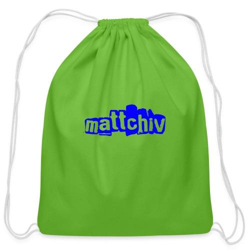 mattchiv - Cotton Drawstring Bag