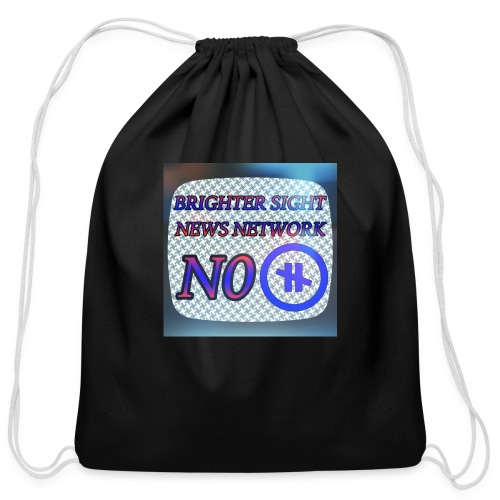 NO PAUSE - Cotton Drawstring Bag