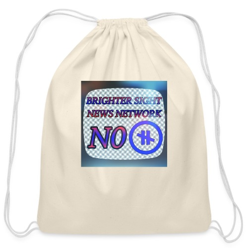 NO PAUSE - Cotton Drawstring Bag