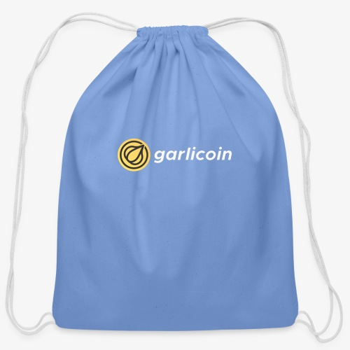 Garlicoin - Cotton Drawstring Bag