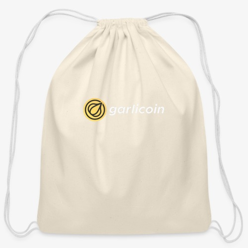 Garlicoin - Cotton Drawstring Bag