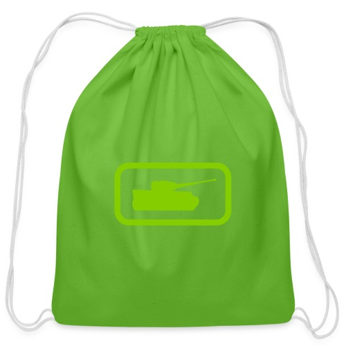 Tank Logo - Multi-Color - Axis & Allies - Cotton Drawstring Bag