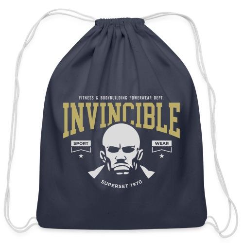 Invincible - Cotton Drawstring Bag