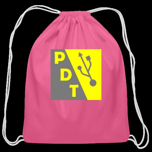 PDT Logo - Cotton Drawstring Bag