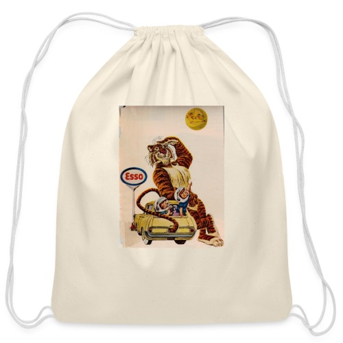 48d538beb72153486dfd2e84c5050151 stuffed tiger ol - Cotton Drawstring Bag