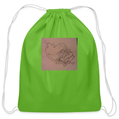 Love - Cotton Drawstring Bag