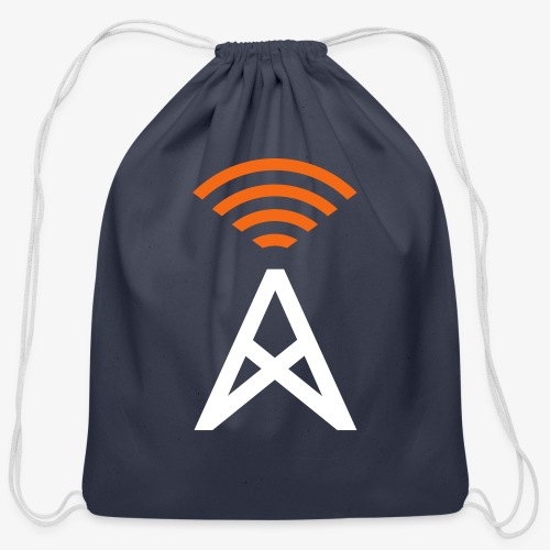 RepeaterFinder Tower - Cotton Drawstring Bag