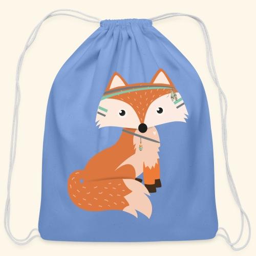 Felix Fox - Cotton Drawstring Bag