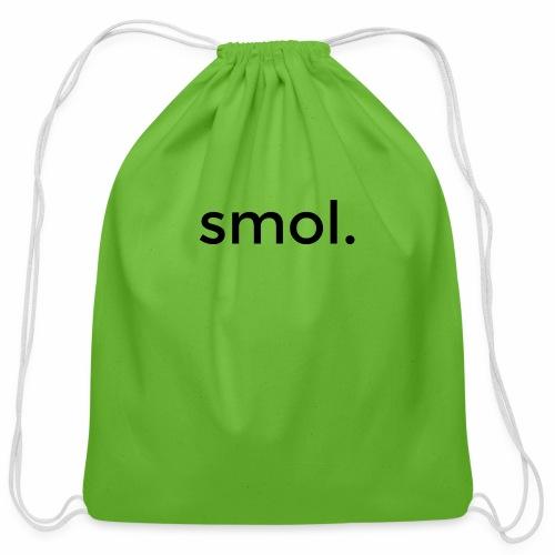 smol. - Cotton Drawstring Bag