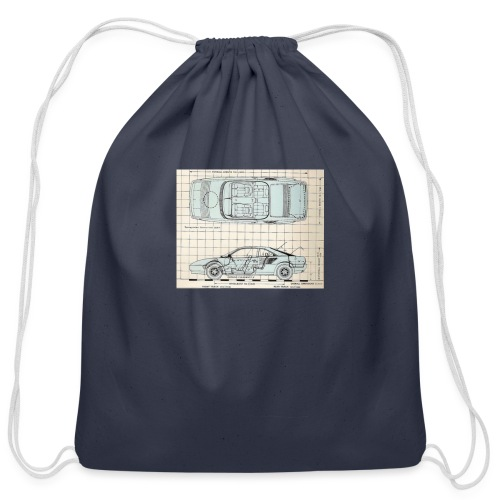 drawings - Cotton Drawstring Bag