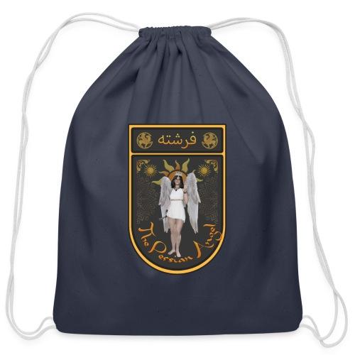 Persian Angel Anahita - Farsi Angel - Cotton Drawstring Bag